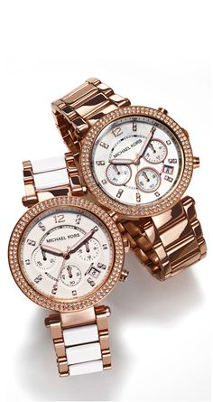 #ShopKick #TreatYourself Nothing like a Michael Khors watch! OMG..love it!