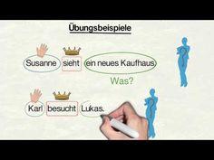"""Deutsche Grammatik: """"Der Akkusativ"""" (mit Sonja Hubmann) - YouTube"""