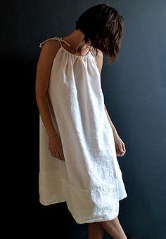 normandy dress linen | PIP-SQUEAK CHAPEAU ETC