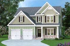 Craftsman House Plan 4 Bedrm, 3017 Sq Ft Home