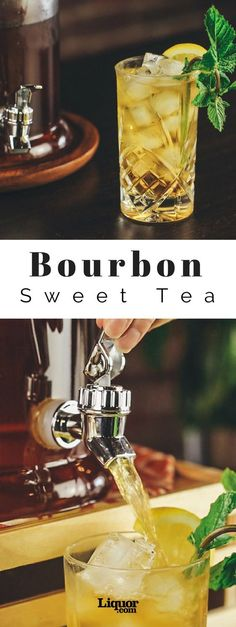 Bourbon Sweet Tea is Your New Cocktail Obsession! You're all set for sitting on the porch, rocking your cares away.