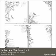 Letter Box Overlays No. 03