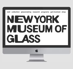 Leo Porto — Student Project for fictional New York Museum of Glass Web Design Quotes, Glass Museum, School Of Visual Arts, New York Museums, Website Layout, Website Ideas, Branding, User Interface Design, Body Systems