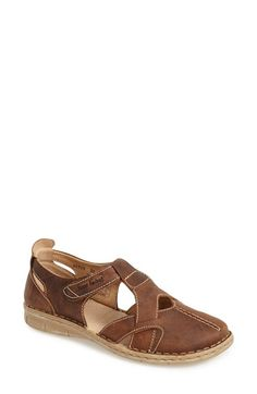 Josef Seibel 'Amanda 09' Leather Sandal (Women) available at #Nordstrom