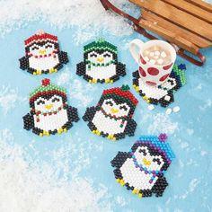 Herrschners® Penguin Parade Coasters Beading Kit