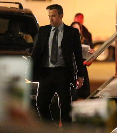 Eat your heart out, Gotham City! 'Batman v Superman' star Ben Affleck was on the set of the 'Suicide Squad.'