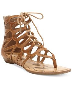 5e2423e733ea Rampage Salina Gladiator Sandals   Reviews - Sandals   Flip Flops - Shoes -  Macy s