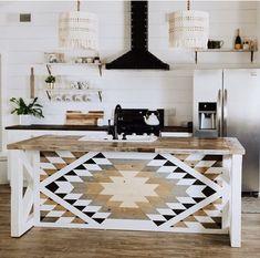 gorgeous apartment decor ideas made from wooden you can do 42 ~ IRMA The Design Files, Küchen Design, House Design, Interior Design, Quilt Design, Casa Muji, Sweet Home, Diy Casa, Condo Decorating