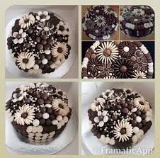 Image result for cake chocolate buttons