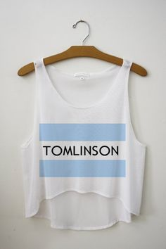 http://www.etsy.com/listing/104539764/tomlinson-one-direction-tank-top#.           Want for the concert