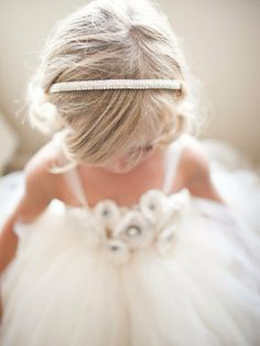 adorable little princess for wedding ♥♥