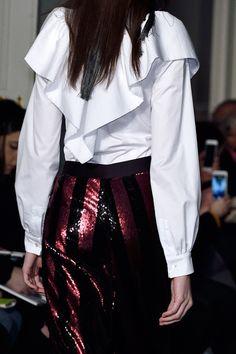 Alexis Mabille at Paris Fashion Week Fall 2016 - Details Runway Photos