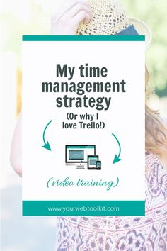 This is how I have created a rock solid time management strategy using Trello boards and a focused business mindset. Click through to read more on how you can get more productive in your business. via@yourwebtookit