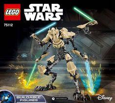 Star Wars Battle Figures - General Grievous [Lego 75112]