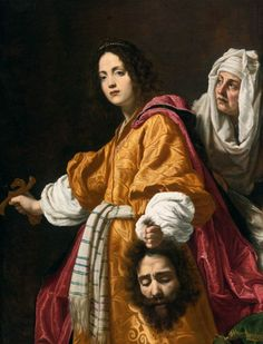 Judith with the Head of Holofernes, Cristofano Allori, 1610-12