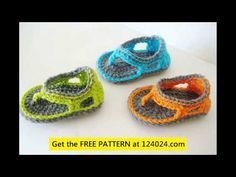 Very Easy How to Crochet Baby Booties - YouTube