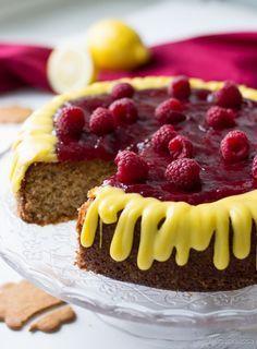 Runebergin kakku / kinuskikissa Single Layer Cakes, Something Sweet, Cheesecake, Baking, Fruit, Desserts, Recipes, Food, Death