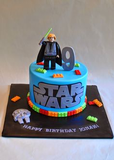 Star Wars Lego Cake, Hope's Sweet Cakes