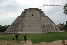 """Uxmal Ruins, Merida. This is the best pyramid in Mexico. Less crowded than Chichen Itza and has extensive surrounding structures. Uxmal means 'Thrice built"""" possibly referring to the multiple layers built on the Magician's Pyramid. Some scholars also think that it comes from the Mayan word Ochmal which means """"Future""""."""