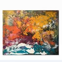 Abstract Art Painting, Large Canvas Art, Contemporary Painting, Acrylic Painting