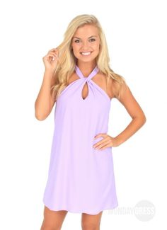 Steady Swinging Dress in Lilac | Monday Dress Boutique