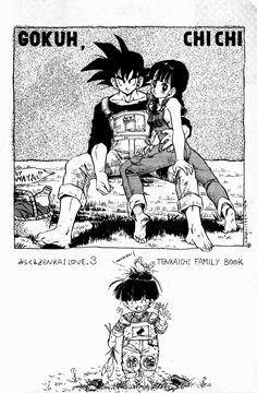tumblr_o59tdrBKU91uxy8t7o1_1280.jpg (1256×1920) Goku Chichi Gohan Overalls