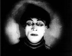 Conrad Veidt in 'Das Cabinet des Dr Caligari' 1920 directed by Robert Wiene Dr Caligari, Silent Horror, Silent Film, Tim Burton, Robert Wiene, German Expressionism Film, Conrad Veidt, 7 Arts, Tv Movie