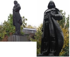 Ukraine builds Darth Vader a statue, arrests Chewbacca, and elects the Emperor - Geek