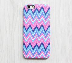 Pink Blue Chevron iPhone 6s Case iPhone 6 plus Ethnic iPhone 5S 5 iPhone 5C iPhone 4S Case Colorful Samsung Galaxy S6 edge S6 S5 S4 Case 081