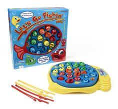 Let's Go Fishing Game Toy for Kids - Keep them excited and occupied on the way to the lake! BaitCastFishReels.com