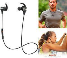 Hoy solamente en Amazon puedes conseguir los TaoTronics Headphones con Bluetooth a solo $21.99 en especial. Utilizalos para el entrenamien...