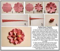 More handmade flowers