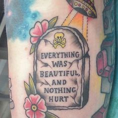 Slaughterhouse-Five tattoo
