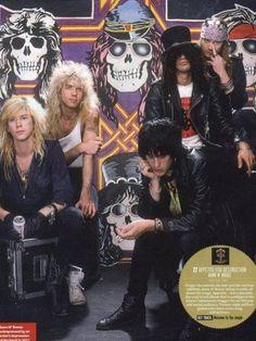 Duff McKagan, Steven Adler, Izzy Stradlin, Slash, Axl Rose
