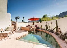 Enchanting 3BR/2BA Adobe House w/ Pool, La Quinta, Sleeps 6. - Turnkey Vacation Rental Palm Springs Vacation Rentals, Adobe House, Spring Vacation, Outdoor Decor, Home, Ad Home, Homes, Haus, Houses