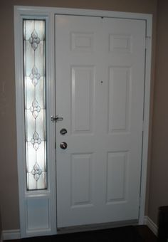 Privacy Decorative Window Film Looks Like Frosted Glass