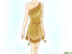 How to Make a Pocahontas Costume. Whether it be for a play or just for fun or for halloween, Pocahontas is a great character. Here are some suggestions for creating your own Pocahontas outfit and accessories. This costume is great for most. Costumes Disney Faciles, Disney Costumes, Adult Costumes, Costumes For Women, Woman Costumes, Mermaid Costumes, Adult Mickey Mouse Costume, Frozen Costume Adult, Ivy Costume