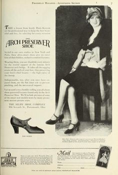 Photoplay (Volume 34-35) July - Dec 1928 20s shoes