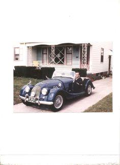 My 1st car a 1961 Morgan +4