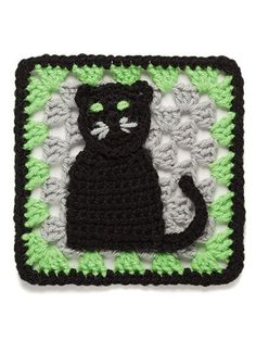 Love this!!! For Halloween crafts. 101 Crochet Squares – Maggie's Crochet ~ CROCHET