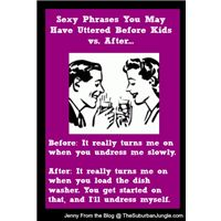 Date Night Phrases: Before Kids vs. After Kids