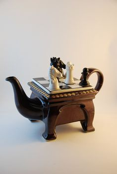 Cardew South West ceramics chess table teapot