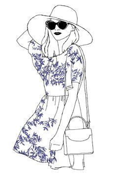 On the Boardwalk illustration by Emilee Anne