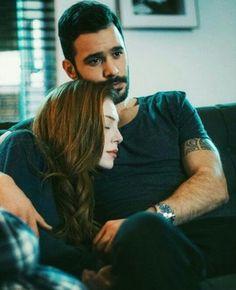 Couple Goals Relationships, Cute Relationship Goals, Turkish Men, Turkish Actors, Romantic Couples, Cute Couples, Dentist Cartoon, Elcin Sangu, Korean Couple