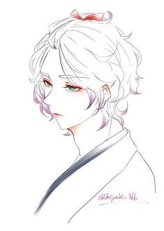 「歌仙さんログ」/「やし」の漫画 [pixiv]