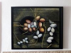 """Saatchi Art Artist Concha Flores Vay; Painting, """"CHICKEN PRODUCTS"""" #art"""