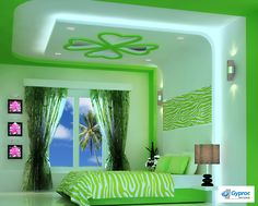 Artistic ceiling that gets you close to nature! To know more: www.gyproc.in/