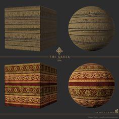 ArtStation - The Order: 1886 carpet and tassels, Megan Parks