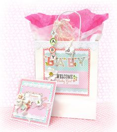 DIY baby gift bag set with Video
