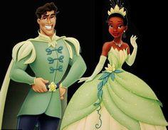 The Princess and the Frog  Tiana and Naveen